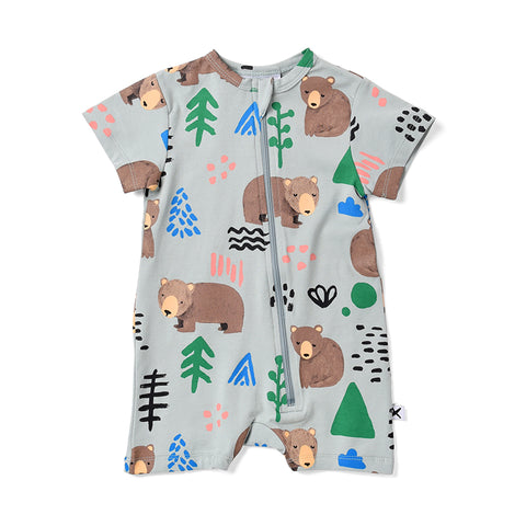 Minti Wilderness Zippy Suit - Muted Green