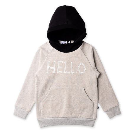 Minti Hello Bye Bones Furry Pocket Hood