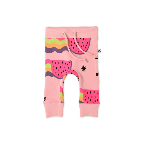 Minti Watermelon Rainbows Furry Trackies
