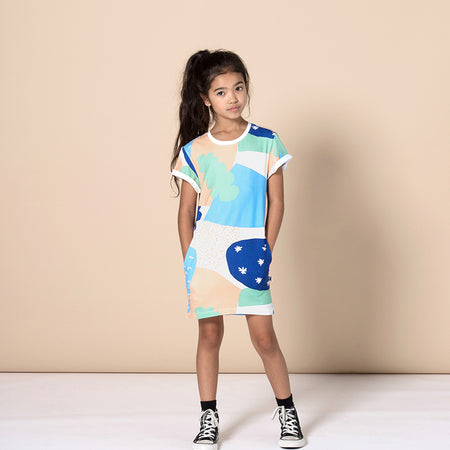 Minti Cosmic Tee Dress - Multi
