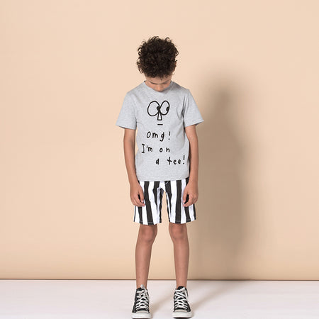 Minti Made It Tee - Grey Marle