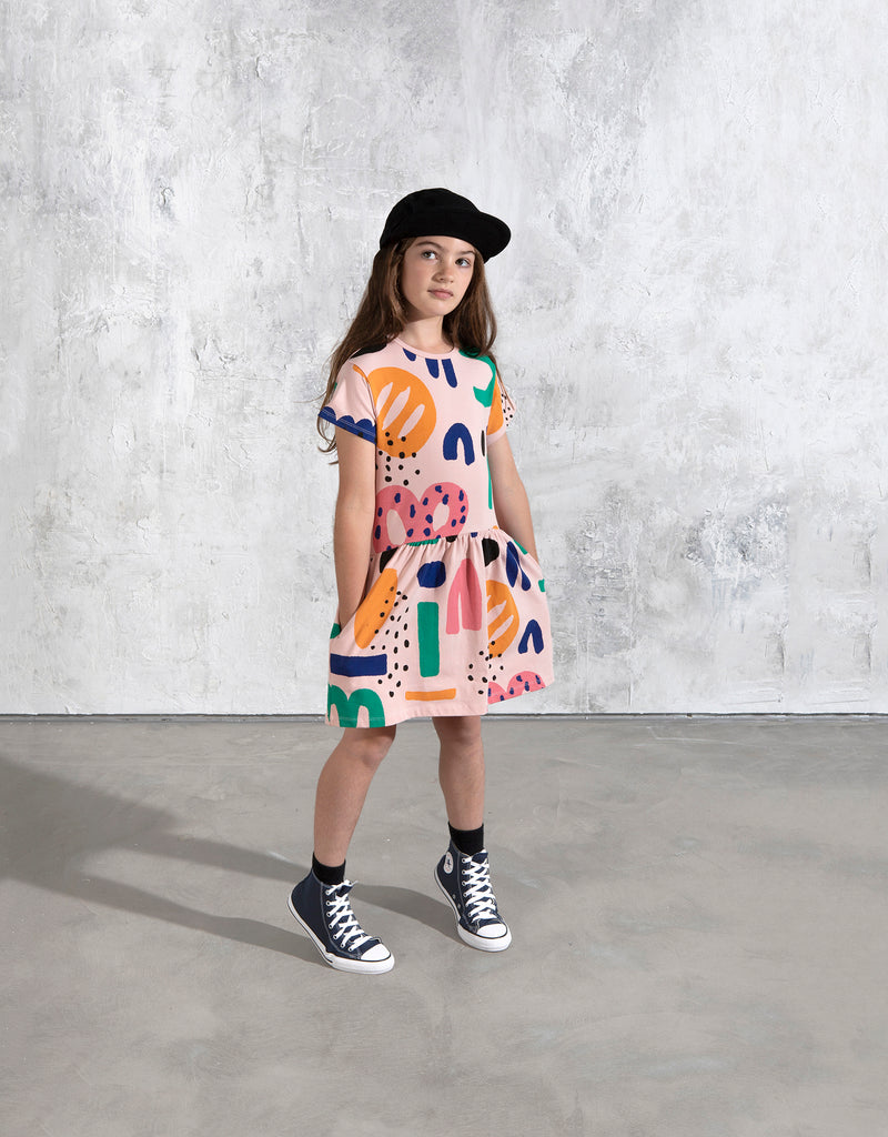 Minti Stamp Art Dress
