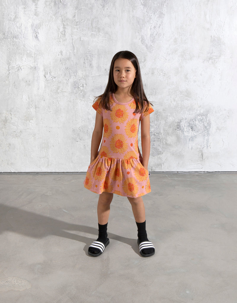 Minti Friendly Sunflowers Dress