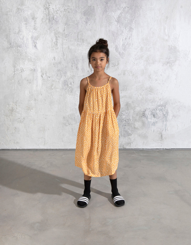 Minti Maze Midi Dress