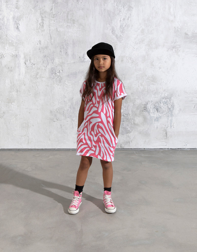Minti Zebra Stripe Dress