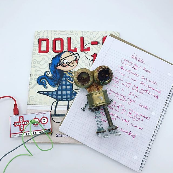 Making and Literacy with Doll-E 1.0