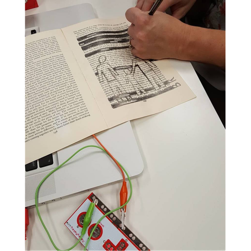 Blackout Poetry with Makey Makey and Scratch