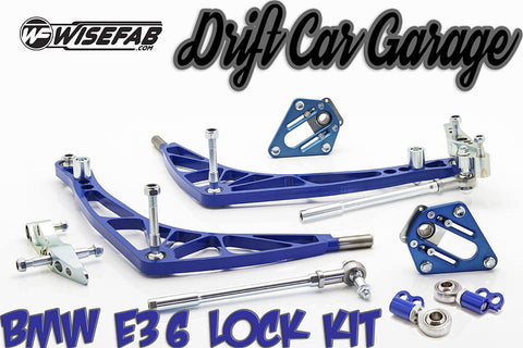 Wisefab BMW e36 FD Legal Lock kit