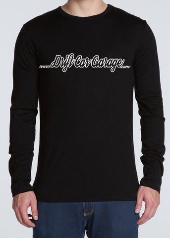 Drift Car Garage long Sleeve Tee