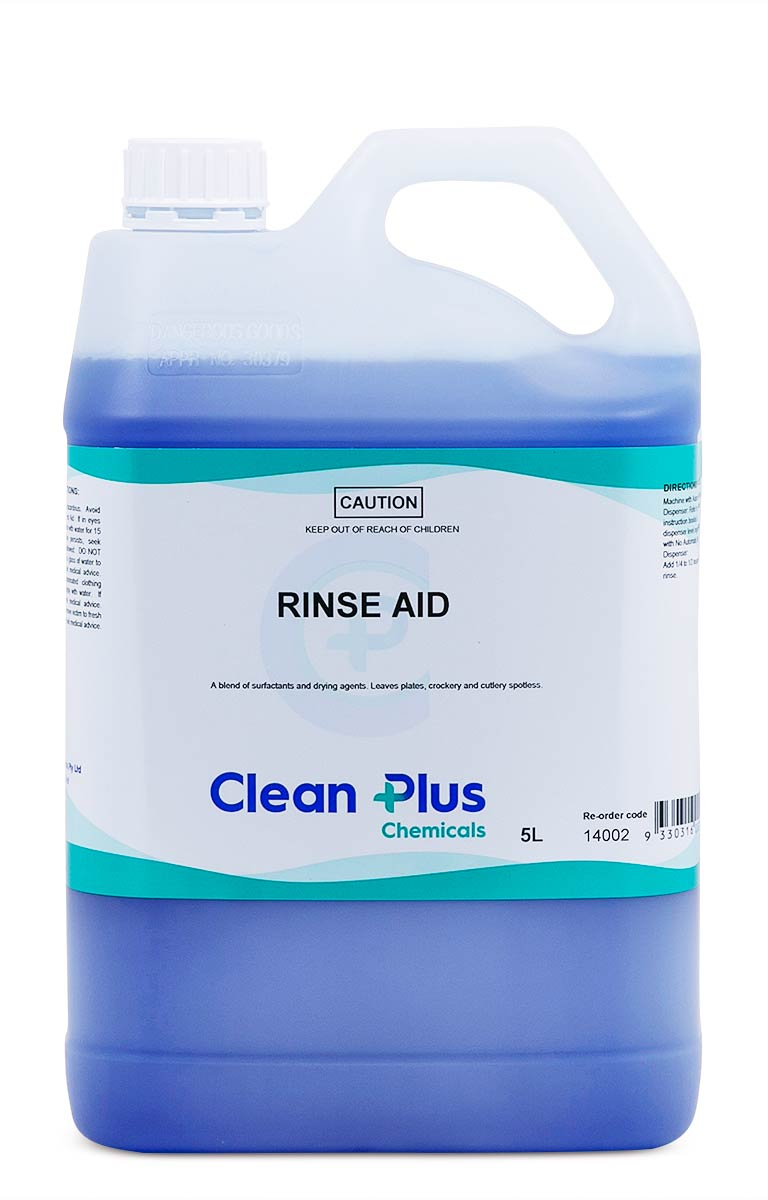Rinse Aid -cleaning supplies