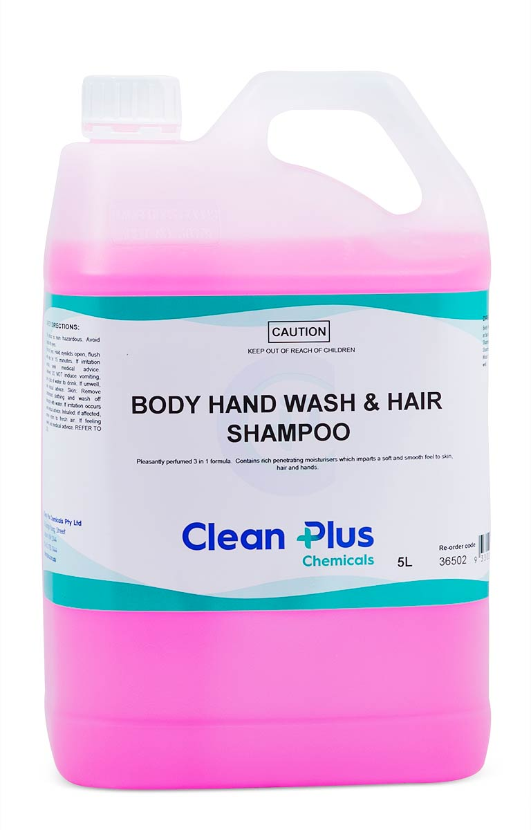 Body Hand Wash and Hair Shampoo - DAKCO-Australia