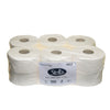 paper/Stella 2ply 115m Mini - Jumbo Toilet Roll -cleaning supplies