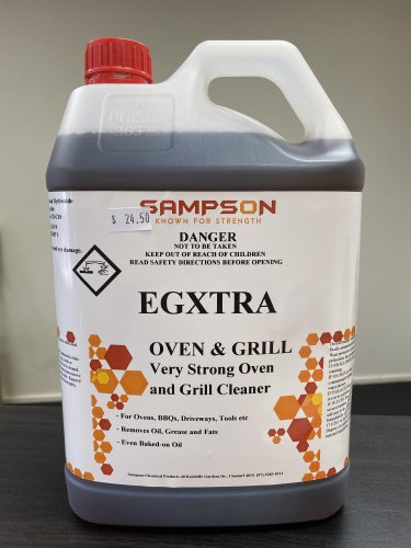 Commercial Oven and Grill Cleaner - EGXTRA - DAKCO-Australia