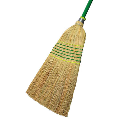 cleaning supplies/7-tie deluxe millet broom -cleaning supplies