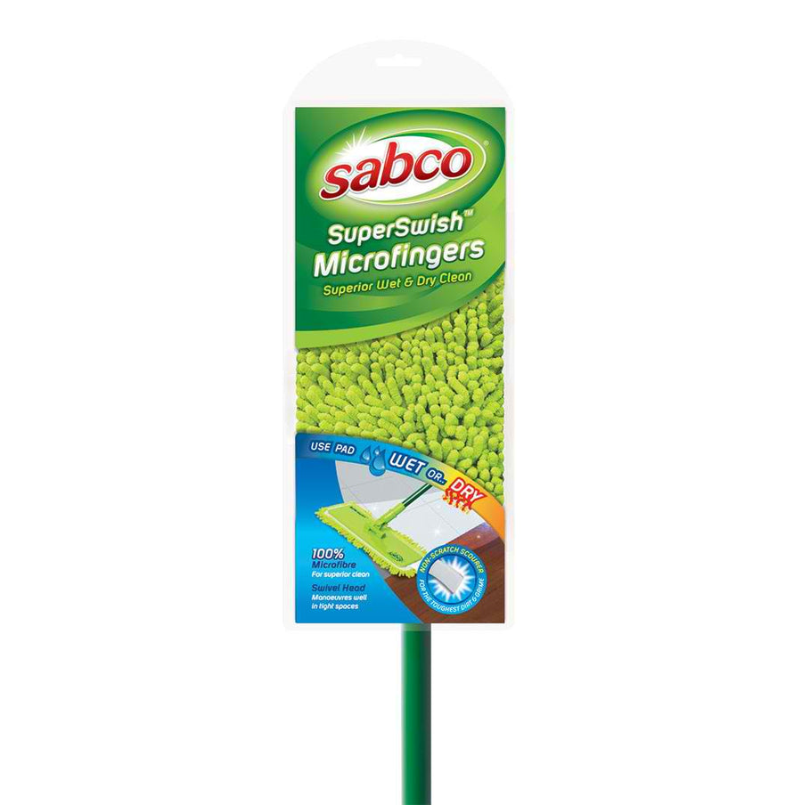 superswish mop with microfingers - DAKCO-Australia