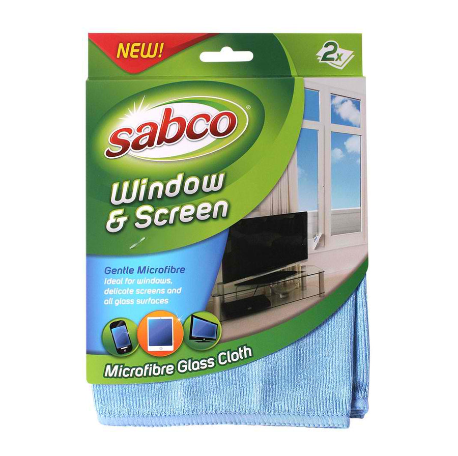 Window & Screen Microfibre Cloth -cleaning supplies