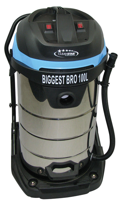 BIGGEST BRO 100 Litres Wet and Dry Commercial Vacuum -cleaning supplies