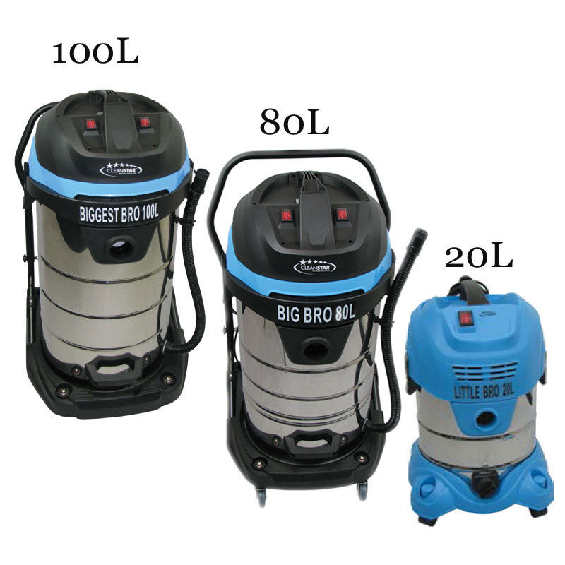BIGGEST BRO 100 Litres Wet and Dry Commercial Vacuum - DAKCO-Australia
