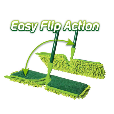 clean/microfibre 2 sided mop -cleaning supplies