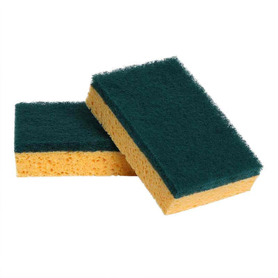 cleaning/Sponge Scourers Grease Guard 2pk -cleaning supplies