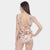 CRUSH Openwork lace One Piece - Beige - swimicon