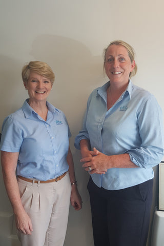 Mary Hickey and Linda Watters