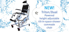 Triton Dual Shower/Commode Chair
