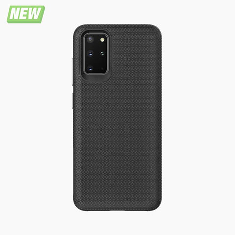 protective shock-absorbent TPU magnetic case for Samsung galaxy S20+ black
