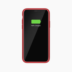 Liquid Silicone Full Protective Magnetic Phone Case for iPhone 11 Pro Red