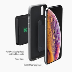 magnetic adapter for xvida wireless charging dock for iPhone XS