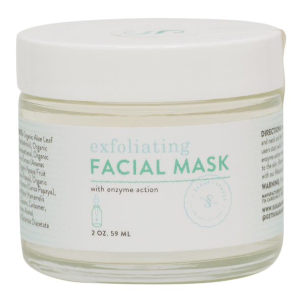 Exfoliating Facial Gel Mask