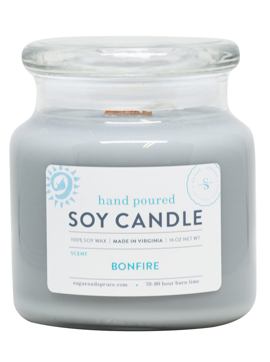 Bonfire Candle Large