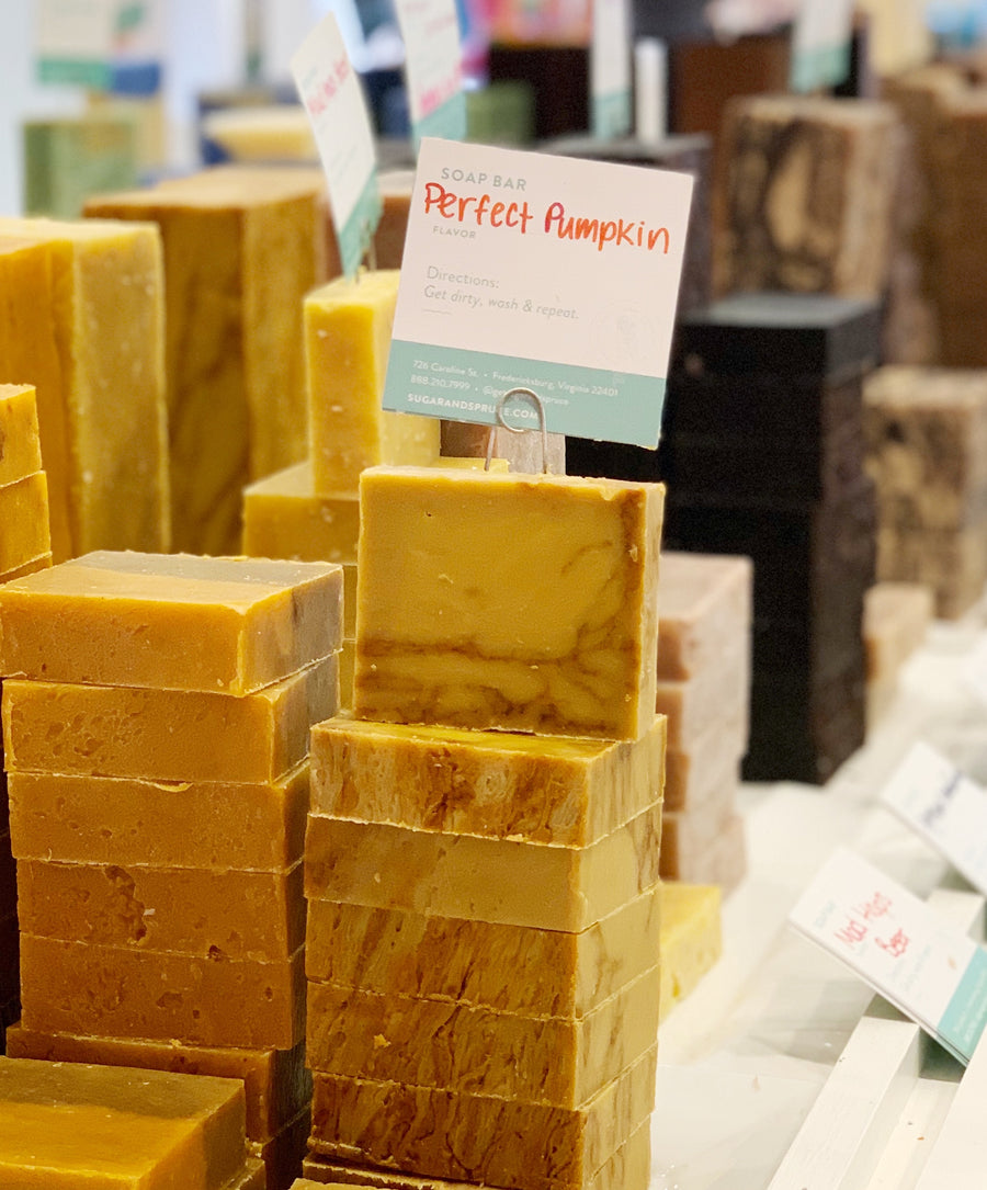 Perfect Pumpkin Soap Bar Fall edition