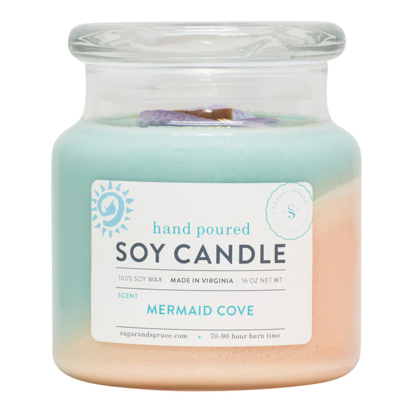 Mermaid Cove Candle Large