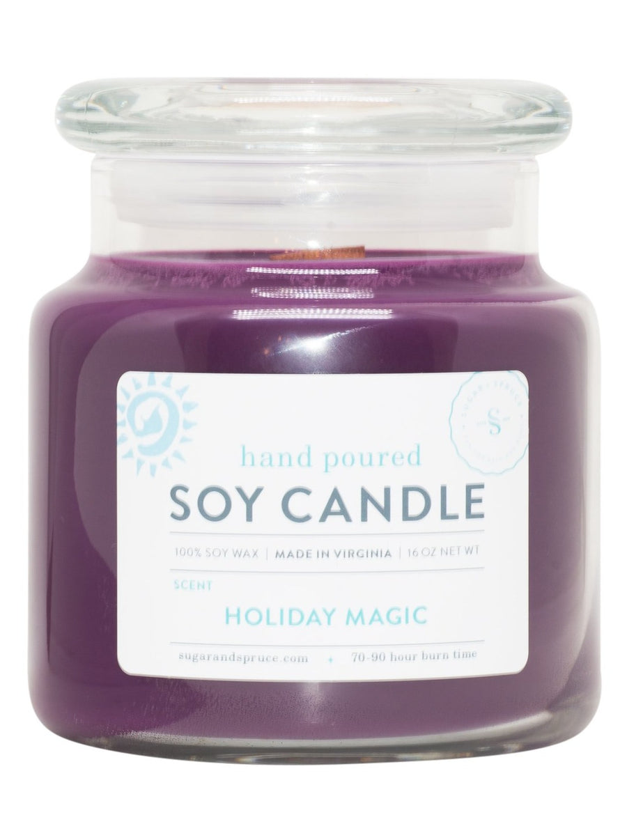 Holiday Magic Candle Large