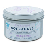 Unicorn Tale Tin Candle