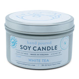 White Tea Tin Candle
