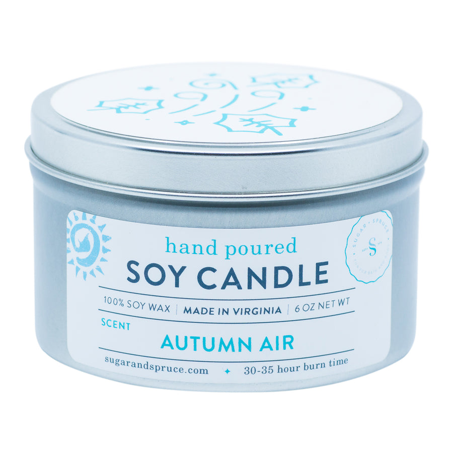Autumn Air Tin Candle