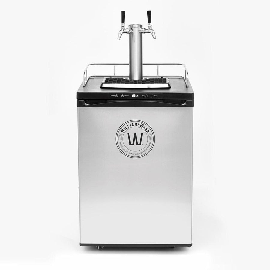 WilliamsWarn BrewKit Kegerator with 2 taps