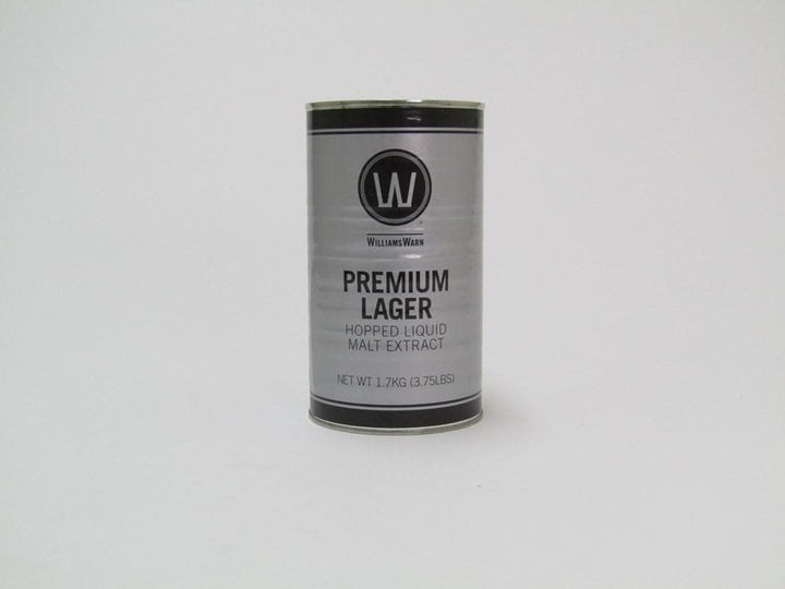 WilliamsWarn BrewKit Premium Lager 20-00 1.7kg