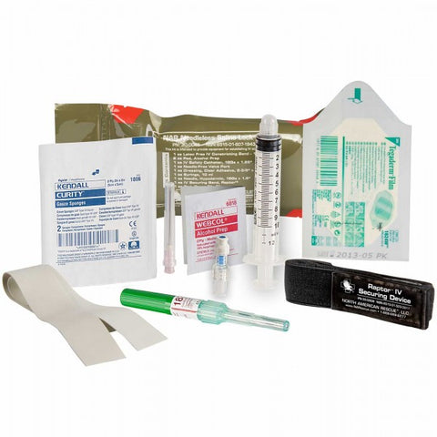 Needleless Saline Lock Kit