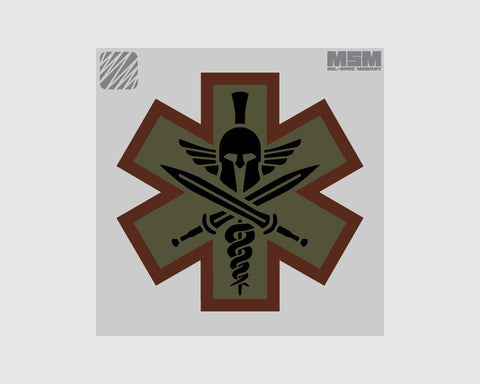 Tactical Medic Spartan Patch