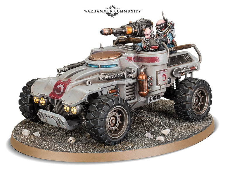 New Genestealer Cult Vehicle! The Achilles Ridgerunner