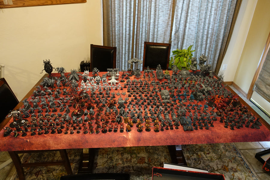 Current Warhammer collection!