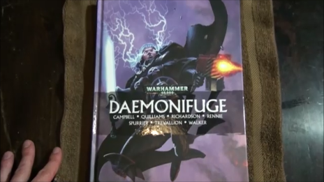 Daemonifuge: A 40k Graphic Novel Review