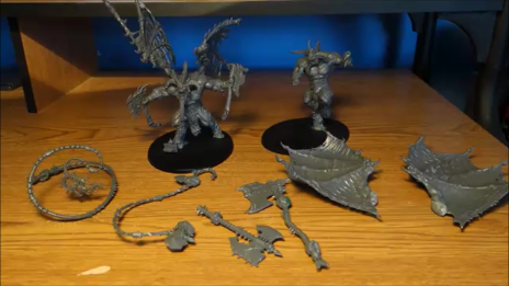 Magnetized Khorne Bloodthirster & Skarbrand Showcase for Warhammer 40k / AOS
