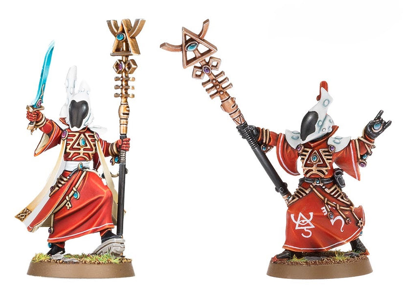 Model Design Rant - Craftworld Eldar Spiritseer