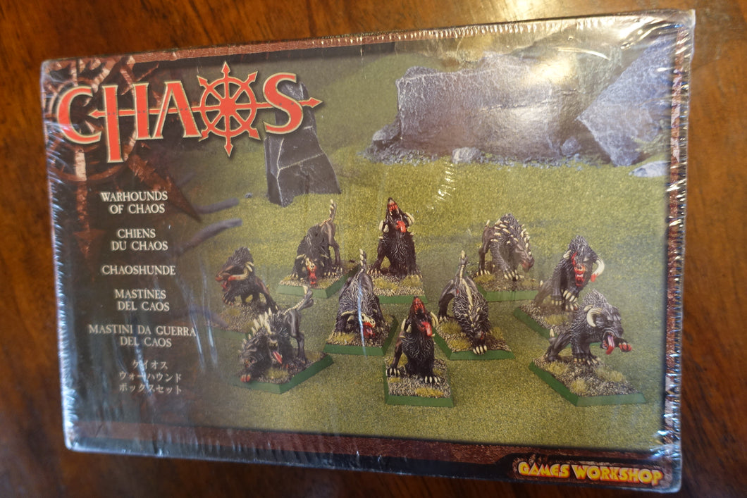 Warhounds of Chaos NIB