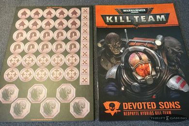 Genestealer Cult Kill Team Tokens, Tiles + Rules
