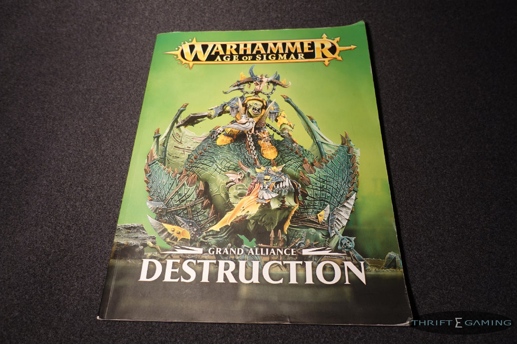 Grand Alliance - Destruction Book
